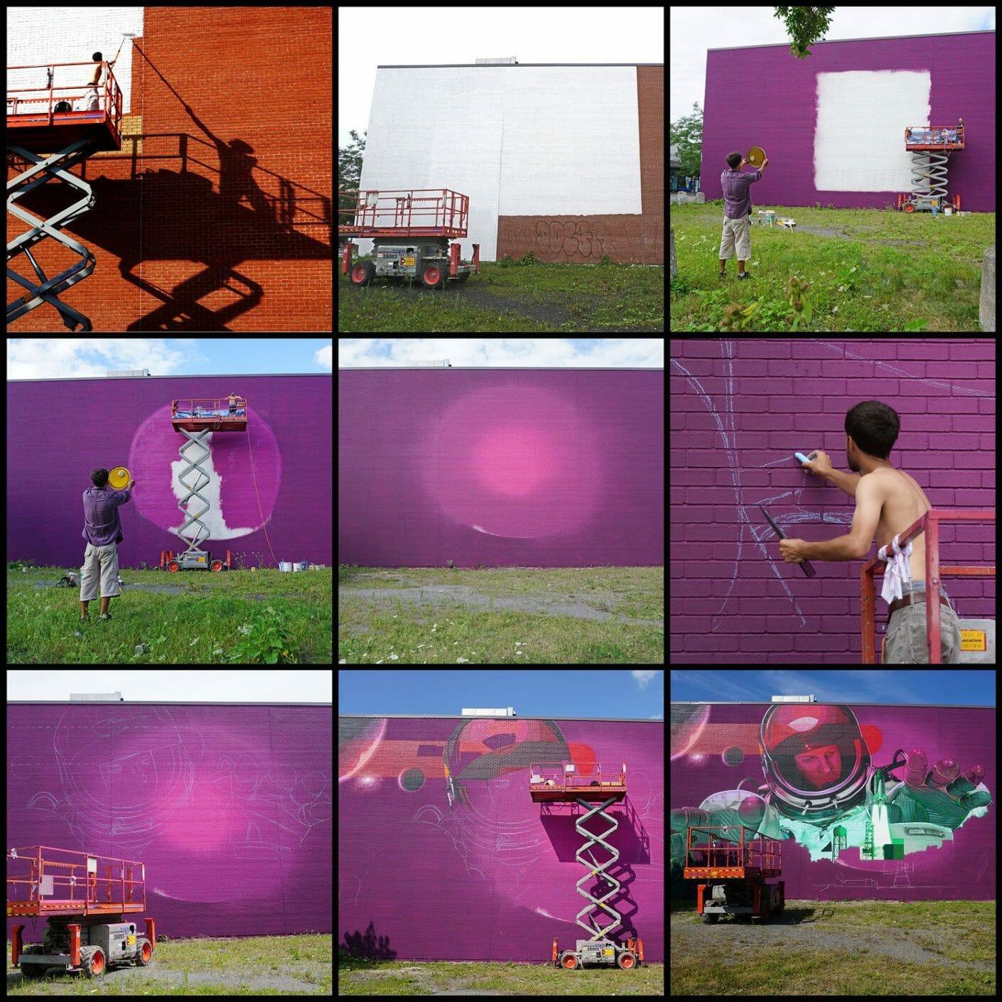 Five8, le secret le mieux gardé du street art montréalais 8