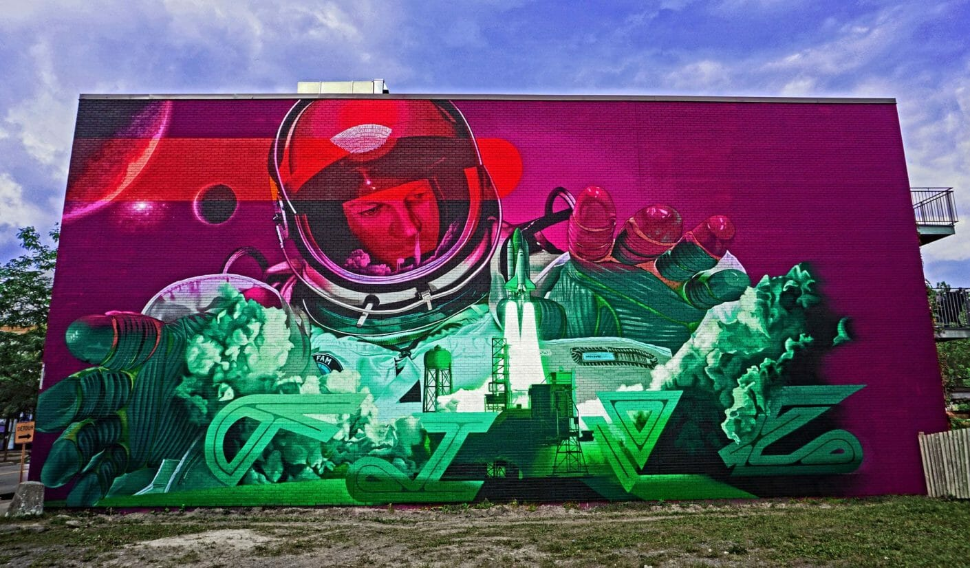 Five8, le secret le mieux gardé du street art montréalais 7