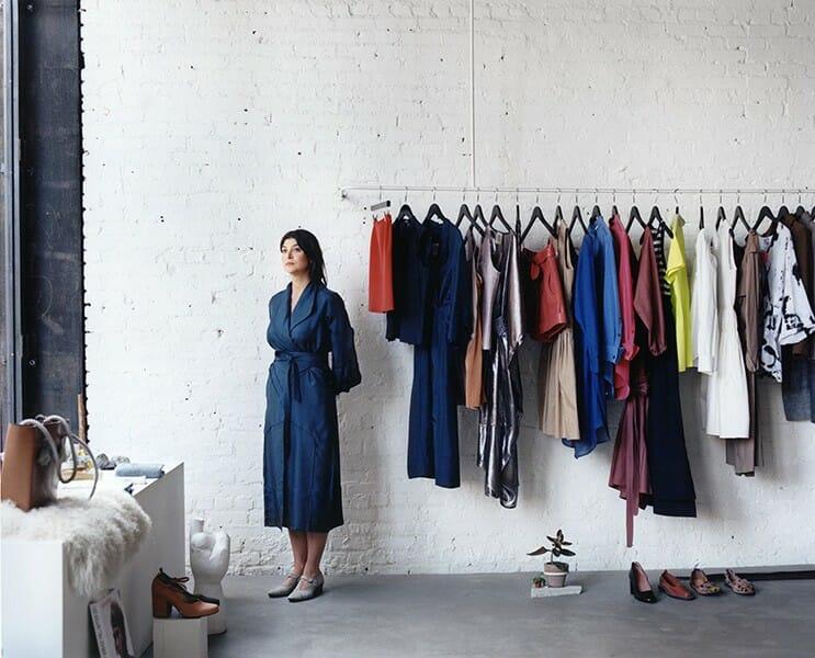 Maryam Nassir Zadeh dans son concept store