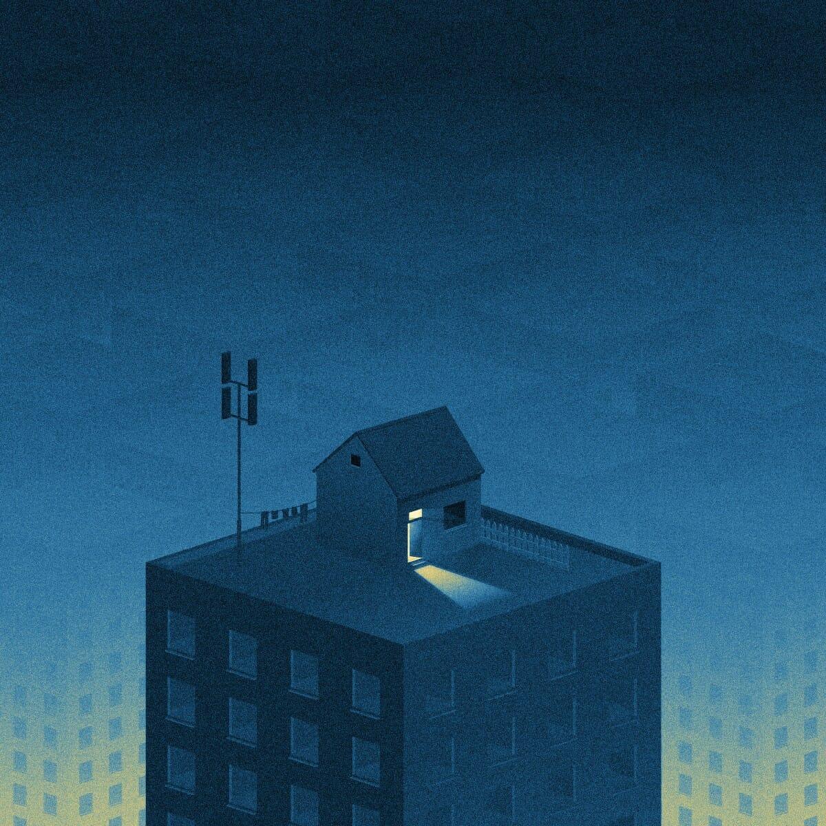 Big City Lights : Série d'illustrations signée Ivo van de Grift 1