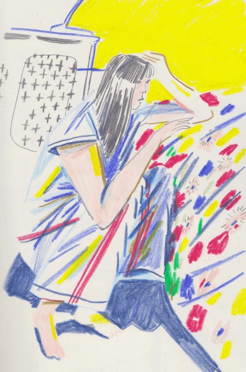 Les carnets d'observations de l'illustratrice Joey Yu