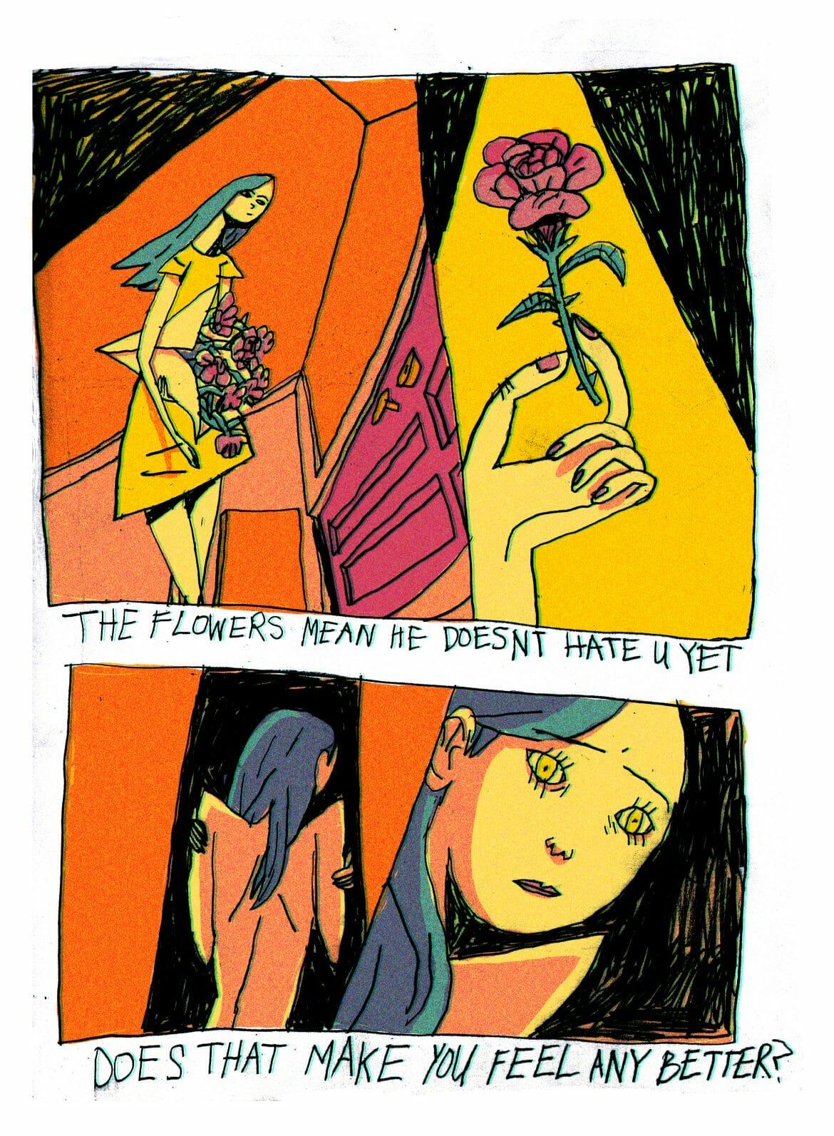 fleur illustration