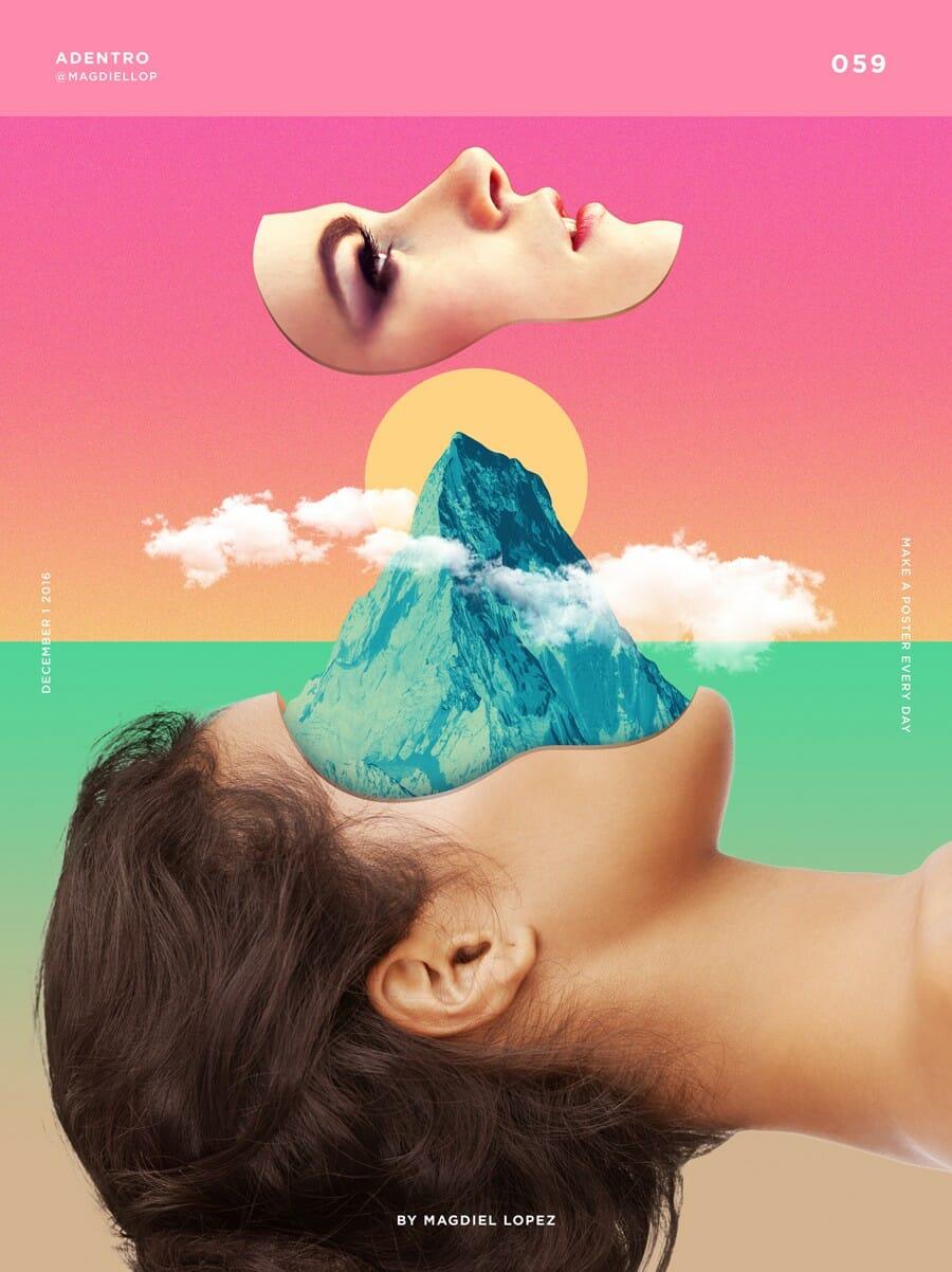 One poster a day, le défi de Magdiel Lopez 1
