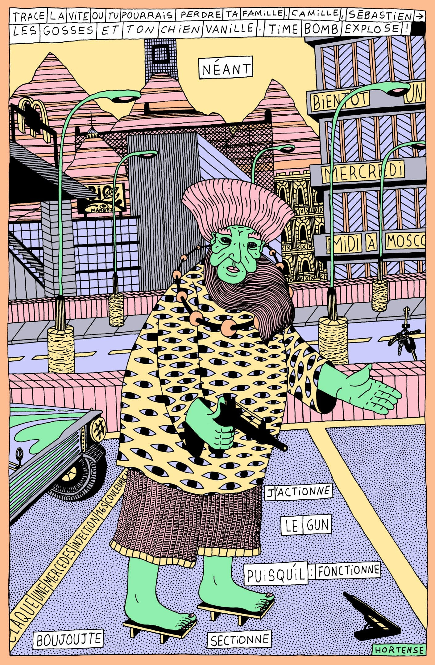 Arthur Binois dessin cool
