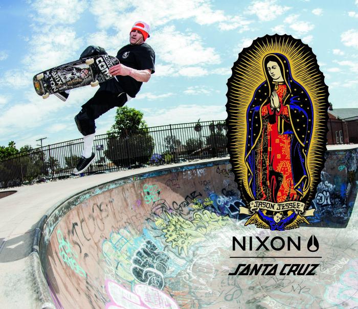 La collab' exclusive de Nixon et Santa Cruz 5