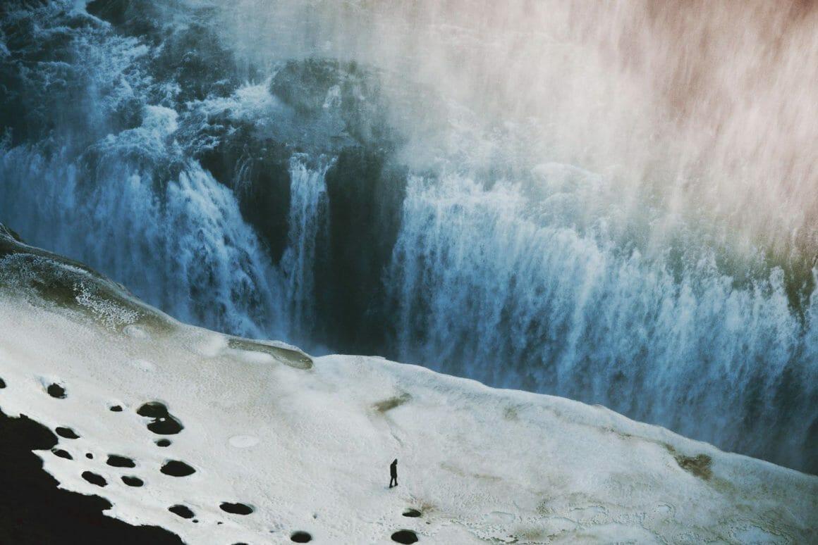 impressionantes chutes d'eau