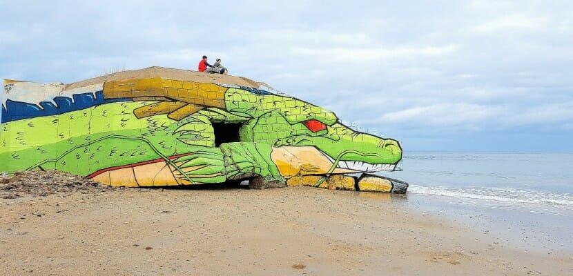 Spotted : Shenron se pose sur les côtes normandes 1