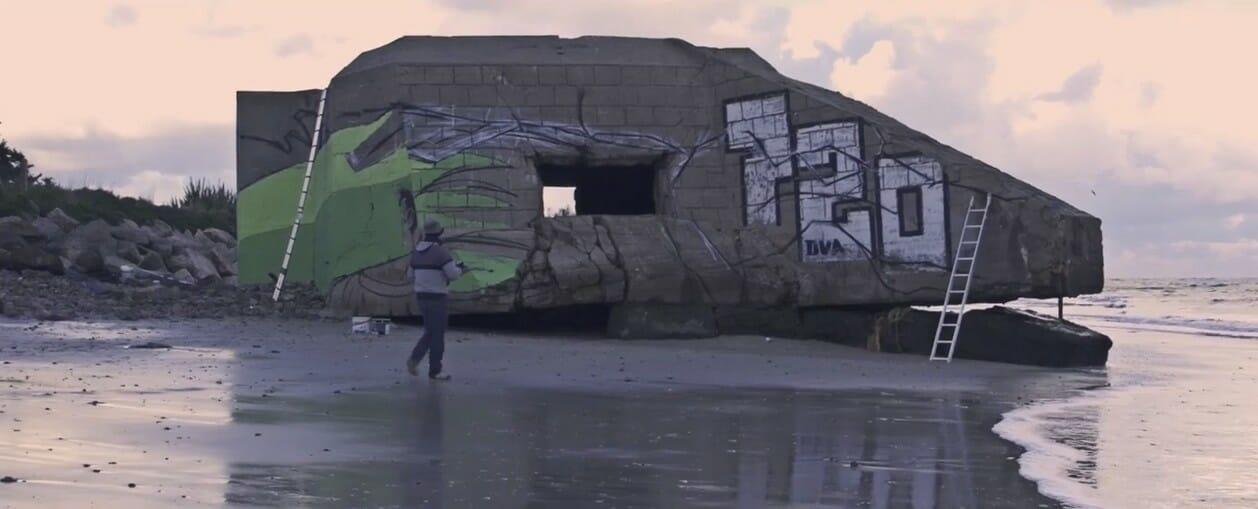 bunker street art france