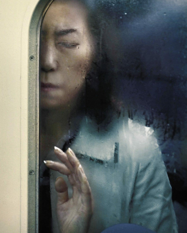 Michael Wolf capture les plaisirs quotidiens du métro Tokyoïte 2