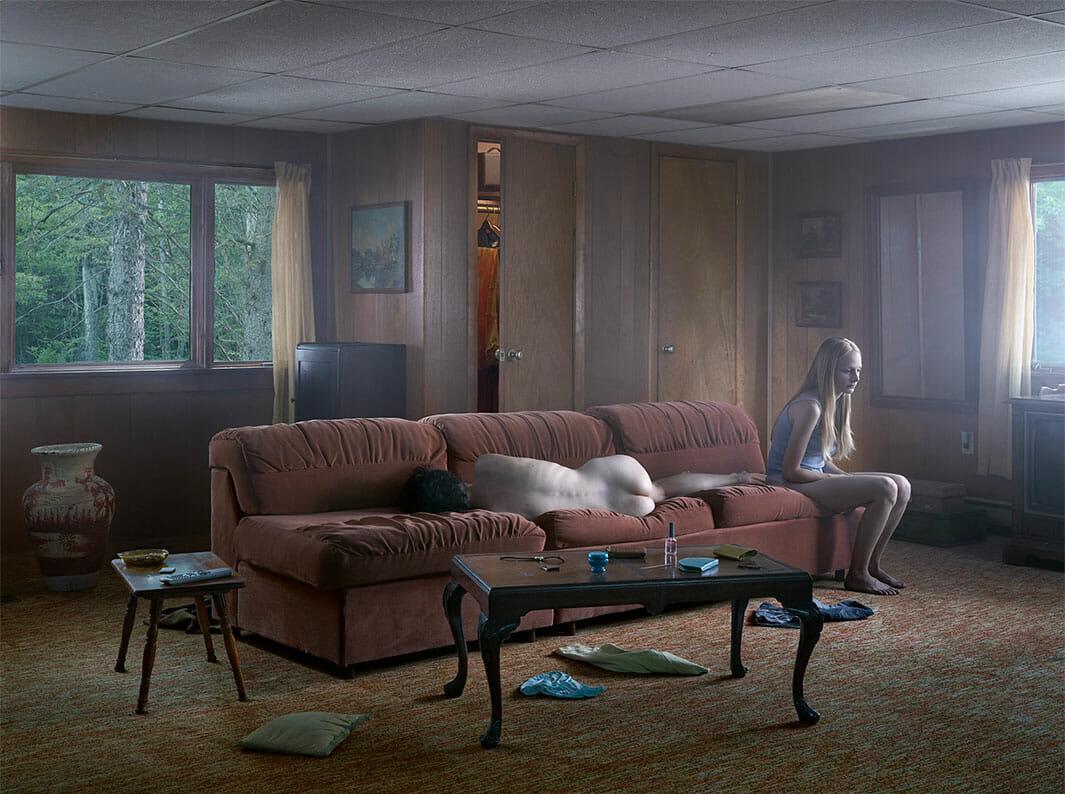 Cathedrale of the Pines, la dernière série cinématographique de Gregory Crewdson 1