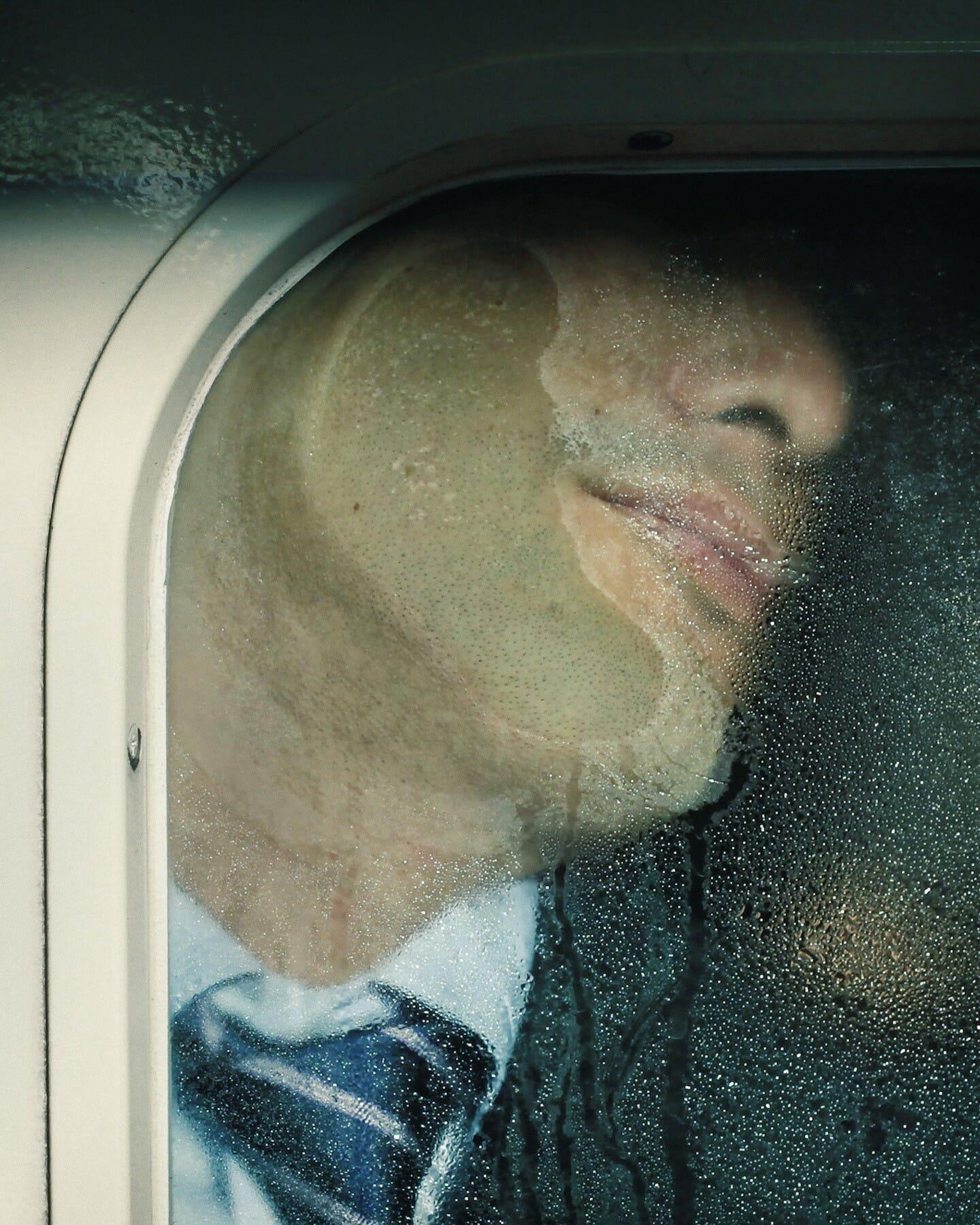 Michael Wolf capture les plaisirs quotidiens du métro Tokyoïte 1