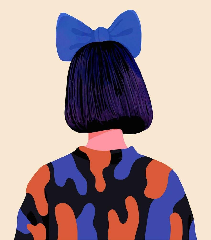 Petra Eriksson illustre des portraits de femmes incroyablement colorés 1