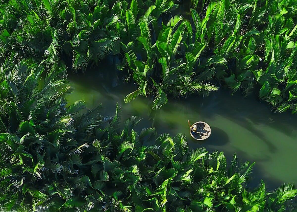 Vietnam vu du ciel avec un drone