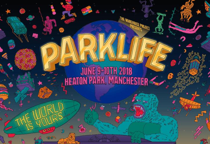 La collaboration folle d'Andy Baker et du Parklife 2018 1