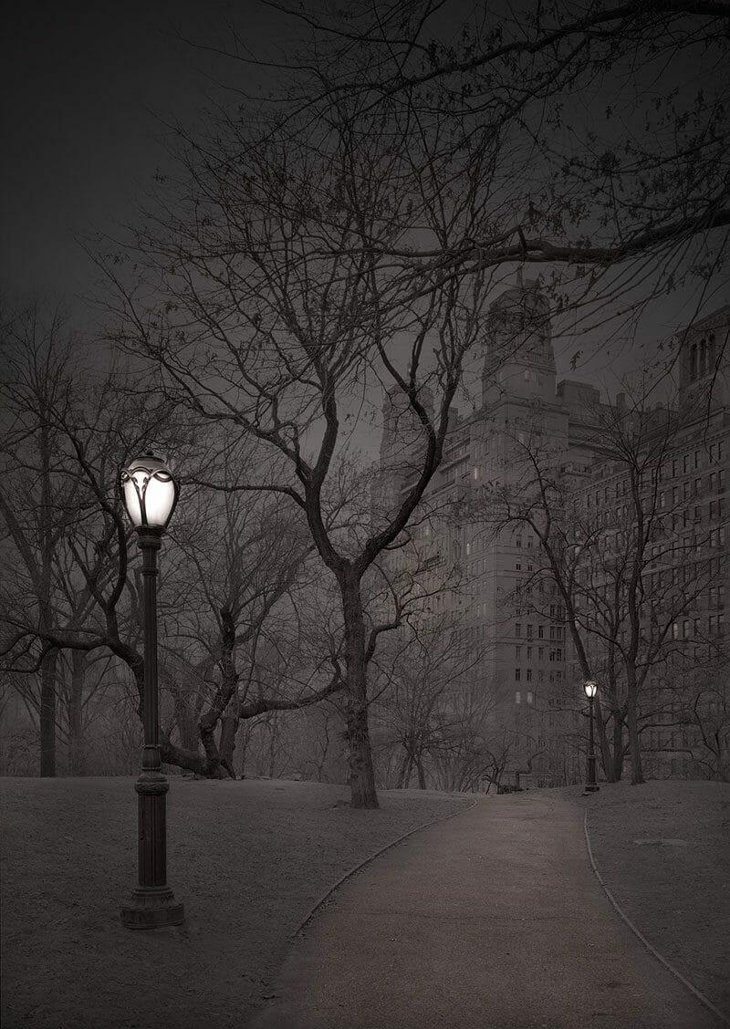 Deep In A Dream – La série de photos de Central Park prises de nuit par Michael Massaia 7