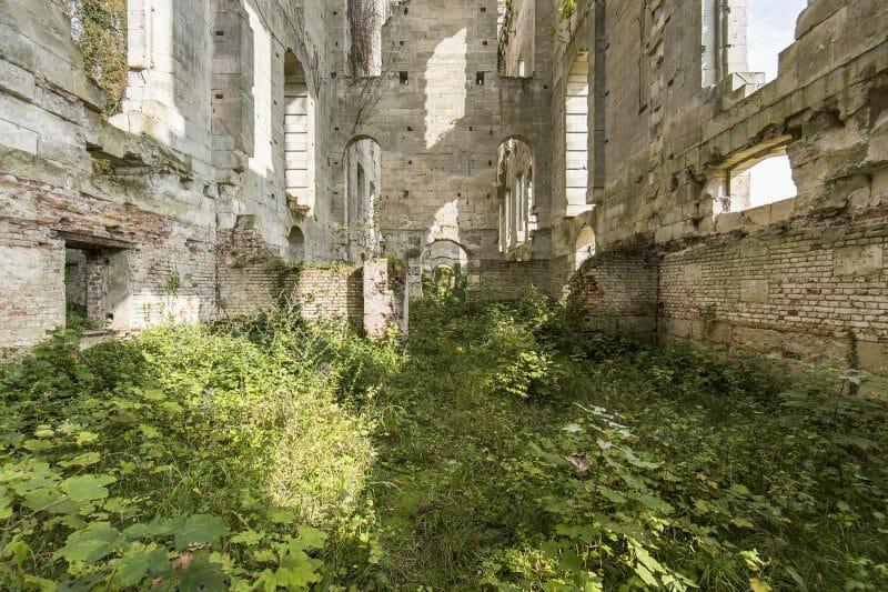 photographie urbex de ruine