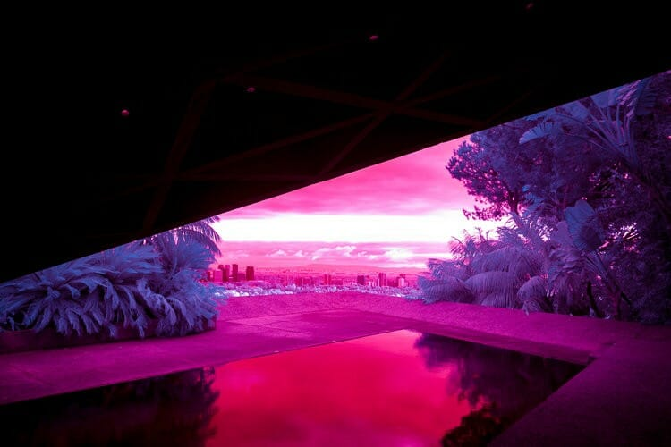 Palm Springs infrared