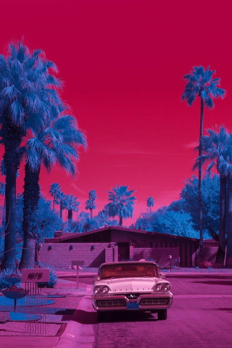 Kate Ballis à Palm Springs