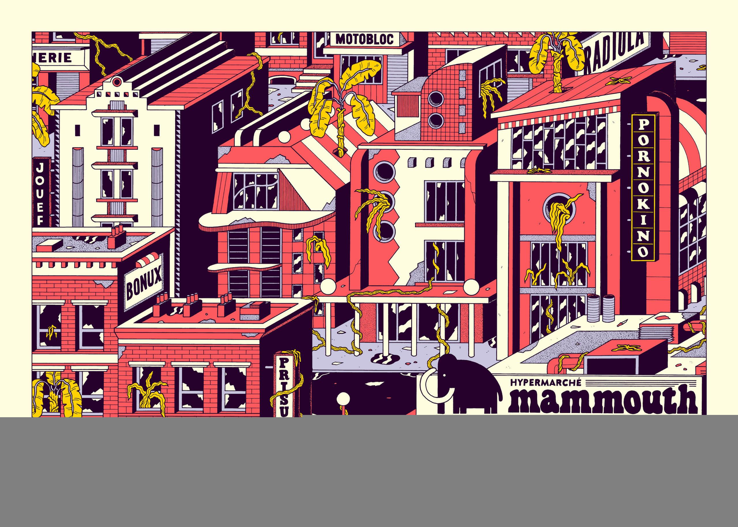 Les mauvaises fréquentations du dessinateur Freak City 1