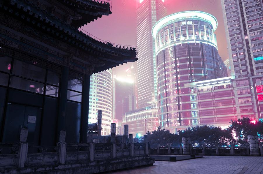 "Marilyn Mugot shoote les villes chinoises la nuit avec ""Night Project"""