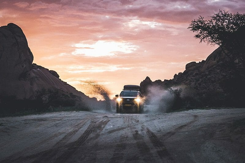 Une pause dans le désert de Namibie 2