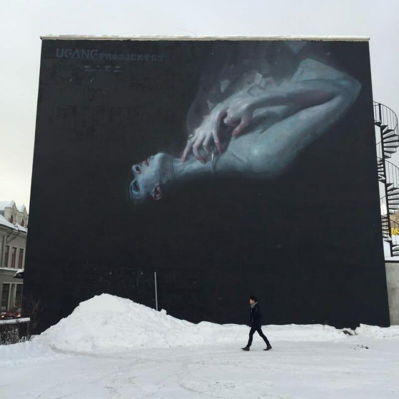 Mural in Norway by Henrik AU