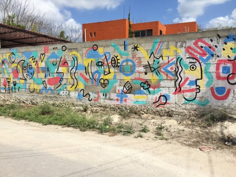 Mural Collab with Toska Vosd in Mexico