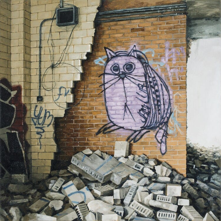 Les créations hyperréalistes d'Urbex de Stephanie Buer réalisées à la peinture et au crayon 5