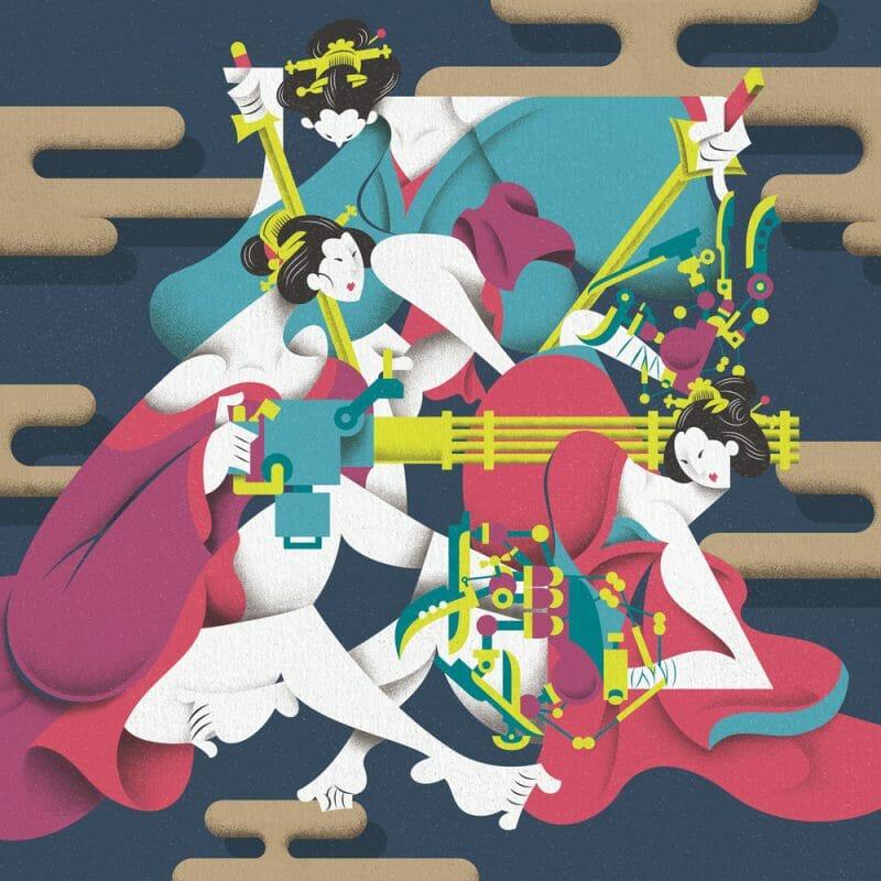 La culture japonaise vue par l'artiste Takehiro Tobinaga 2