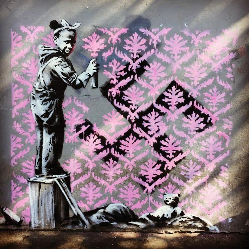 La voix contestataire de Banksy s'élève de nouveau à Paris 2