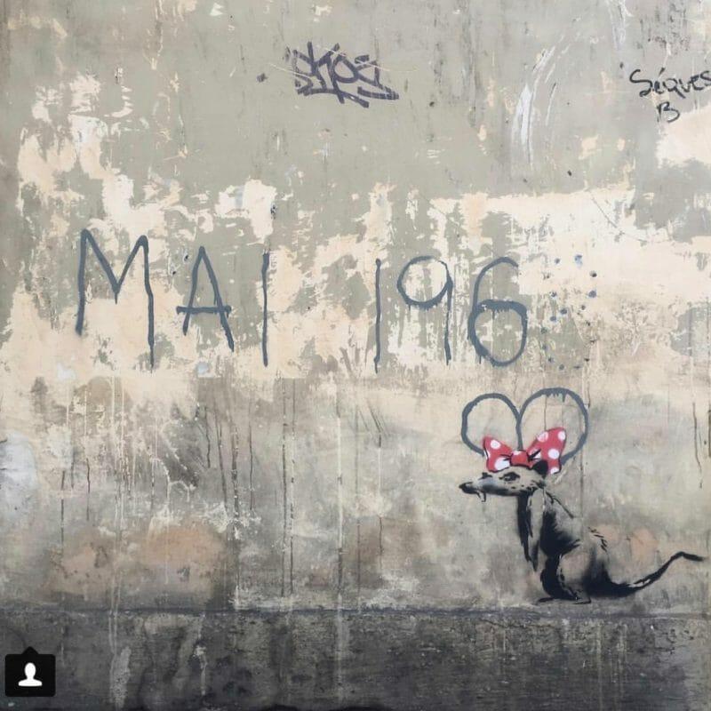 La voix contestataire de Banksy s'élève de nouveau à Paris 7