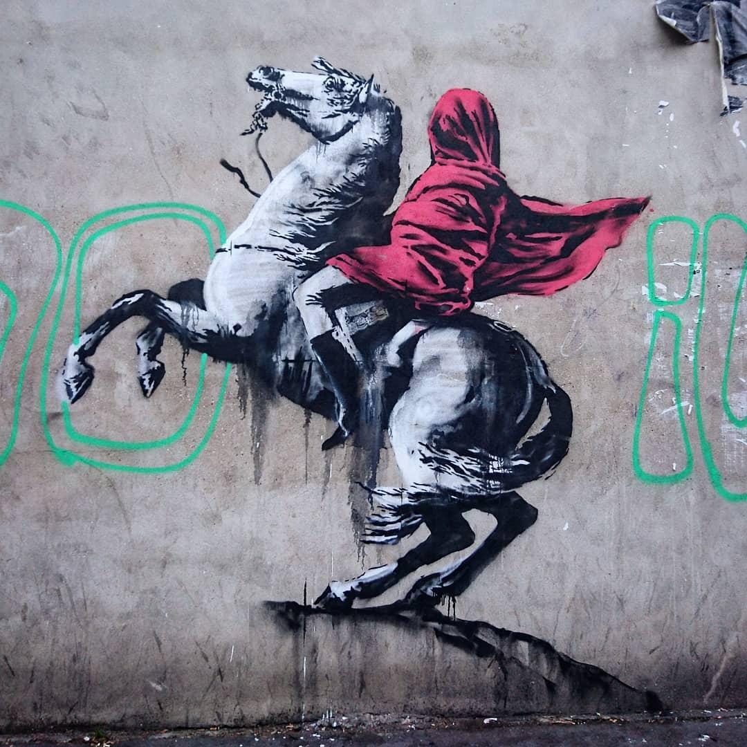 La voix contestataire de Banksy s'élève de nouveau à Paris 1