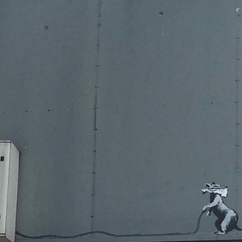 La voix contestataire de Banksy s'élève de nouveau à Paris 8