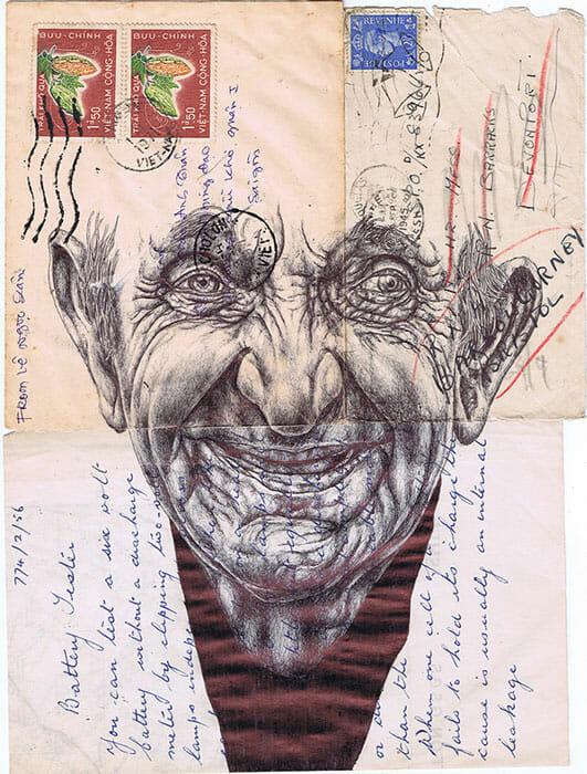 Mark Powell illustration enveloppe