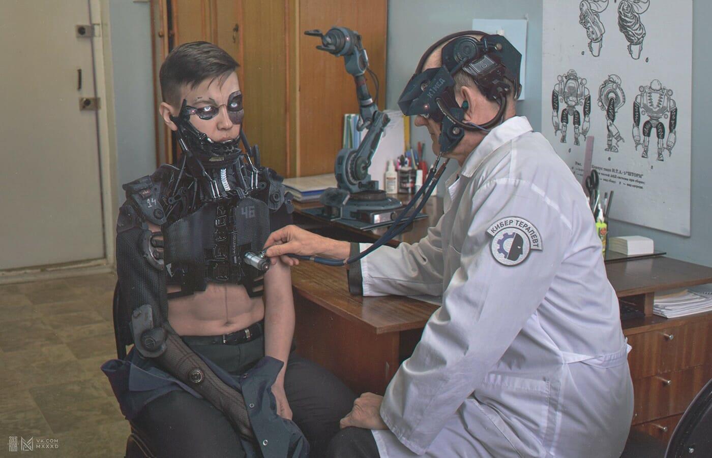En 2077, la Russie totalement robotisée de Evgeny Zubov 1