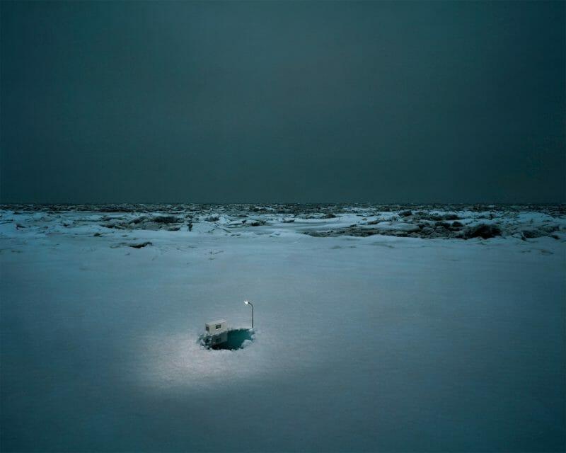 """Thomas Wrede """"Ice Hole"""""""