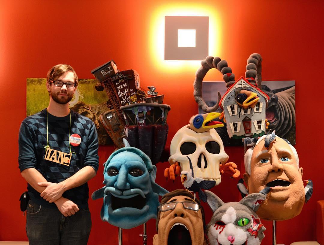 Les masques extraordinaires de Ian Langohr (et un tuto pour faire le sien) 1