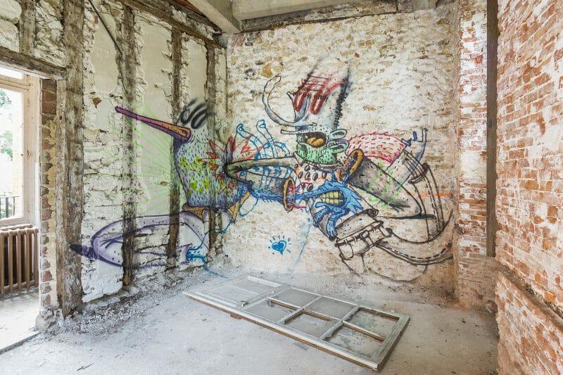 street art et urbex par jonk