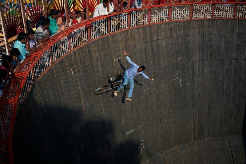 The wall of death