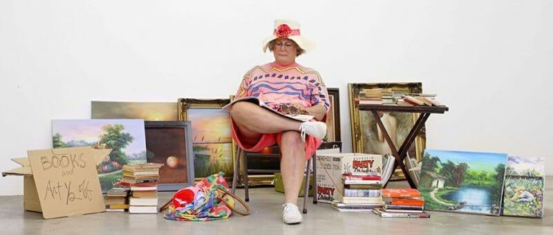 Duane Hanson  Flea Market Lady, 1990-94
