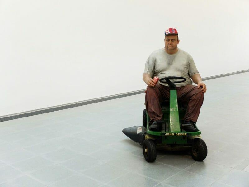 Duane Hanson Man on Mower, 1995
