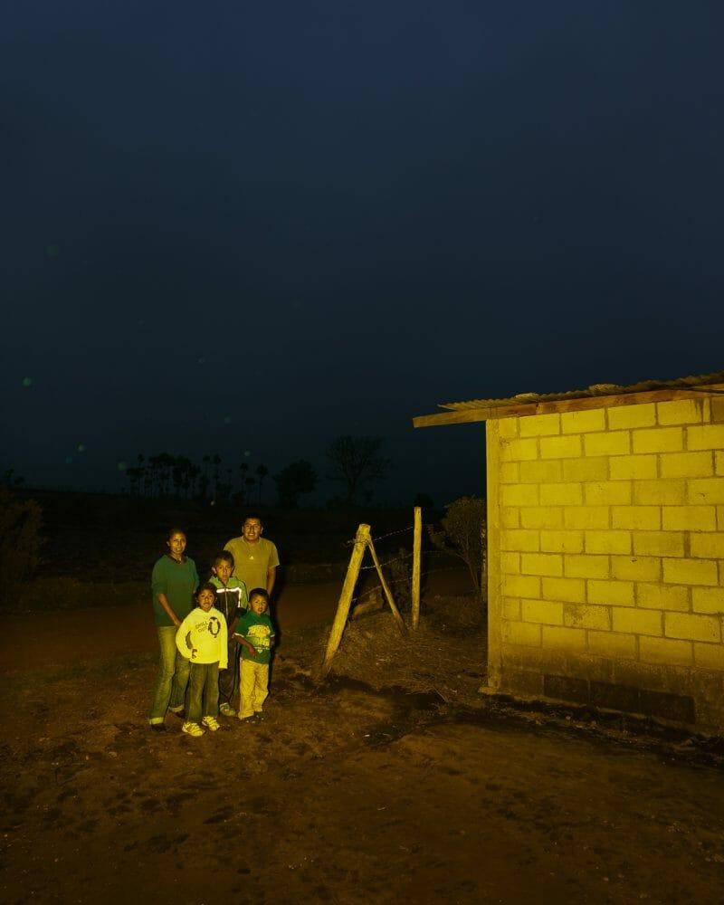 Famille guatémaltèque, RoadTrip guatemala, Benoit Paillé
