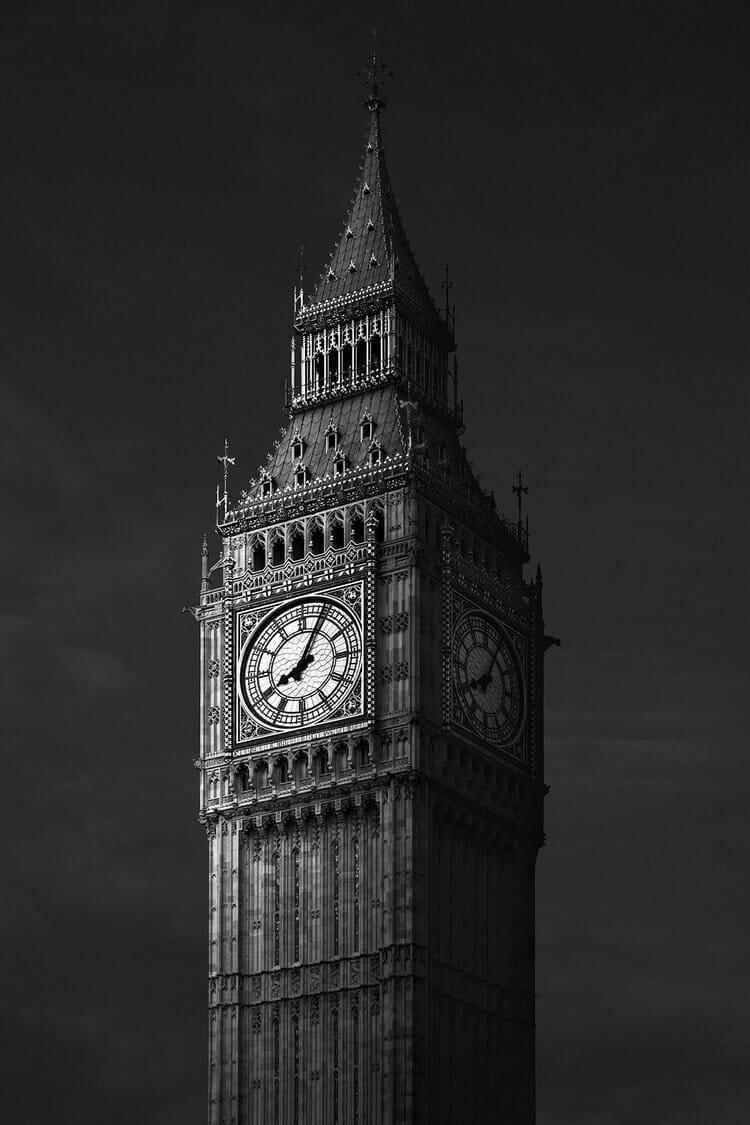 """""""Big Ben"""", la grande cloche de la Tour Elizabeth à Londres"""