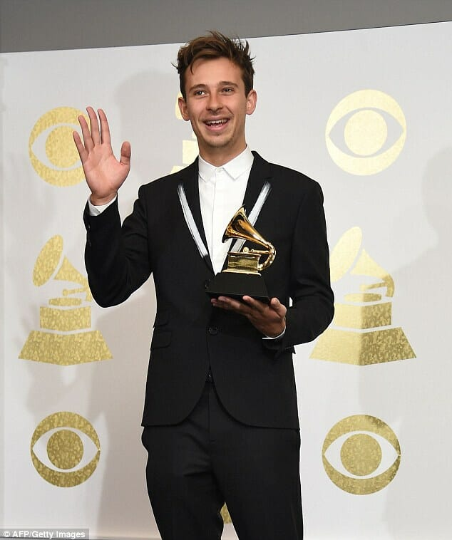 Flume aux Grammy Award du Meilleur Dance/Electronic album