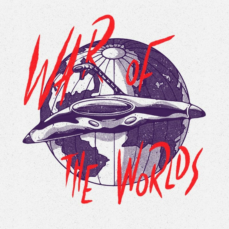 War of the worlds - illustration Alexandre Godreau