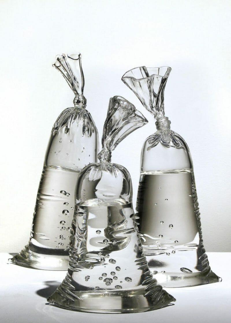 Sculptures hyper réalistes en verre de Dylan Martinez
