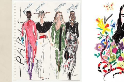 8 illustrateurs à suivre sur instagram quand on aime la mode 3