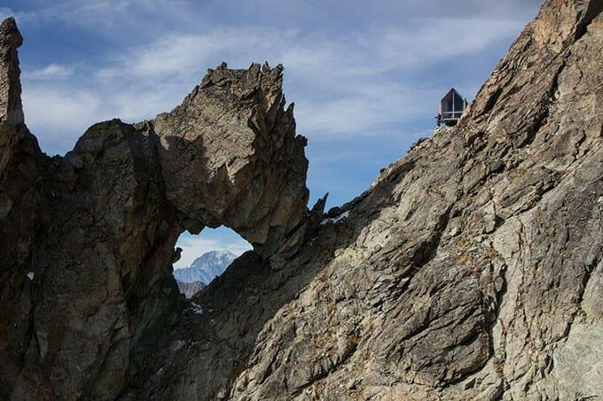 bivouac alpes de plus l'aval
