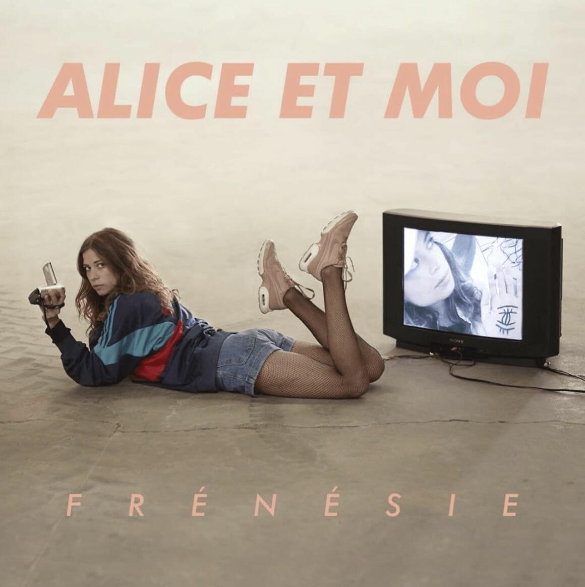 Alice et moi pochette de son EP frénésie