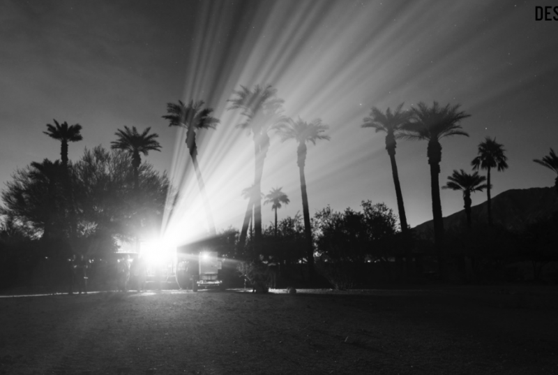 Before I became afraid de Jenny Holzer desert x
